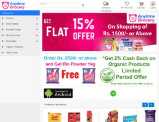 anytimegrocery.com screenshot
