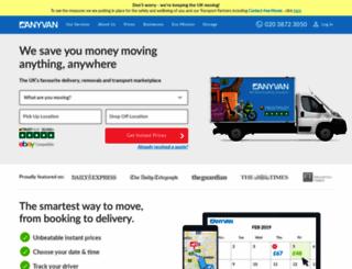 anyvan.com screenshot