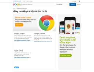 anywhere.ebay.in screenshot