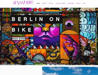 anywheremagazine.com screenshot