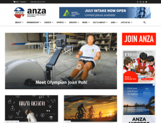 anza.org.sg screenshot
