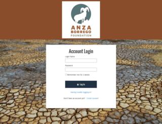 anzaborrego.z2systems.com screenshot