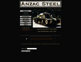 anzacsteel.hobbyvista.com screenshot