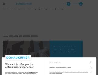 anzeigen.donaukurier.de screenshot