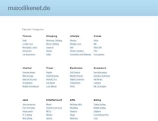 anzeigen.maxxlikenet.de screenshot