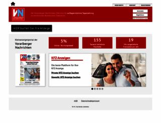 anzeigen.vol.at screenshot