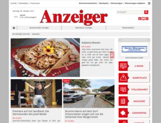 anzeiger-verlag.de screenshot