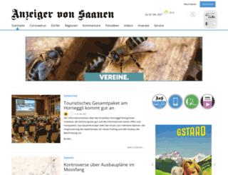 anzeigervonsaanen.ch screenshot