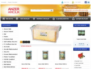 anzeraricilik.com.tr screenshot