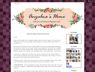 anzulnashome.blogspot.com screenshot