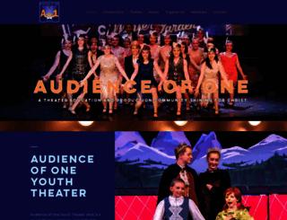 ao1theater.org screenshot