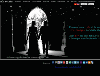 aodaihoanguyen.com screenshot