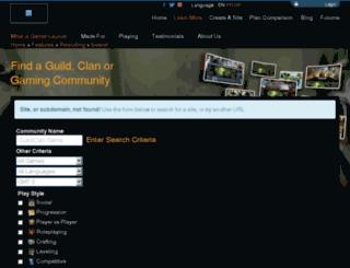 aoenazgrel.guildlaunch.com screenshot