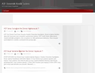 aofkredili.com screenshot