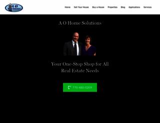 aohomesolutions.com screenshot