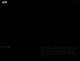 aoi.com screenshot
