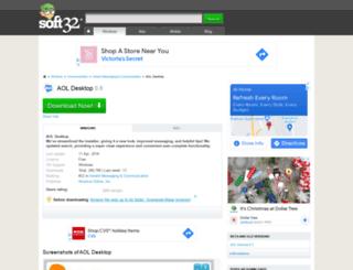 aol-desktop.soft32.com screenshot