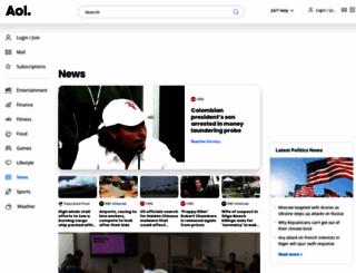 aolnews.com screenshot