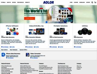 aolor.com screenshot