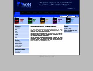 aom-software.de screenshot