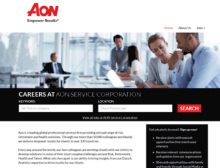 aon.jobs.net screenshot