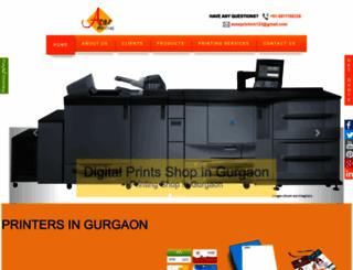 aoneprinters.com screenshot