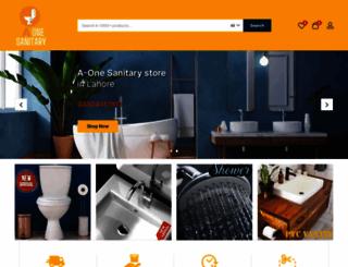 aonesanitary.com screenshot