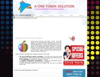aonetonersolution.com screenshot