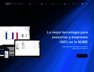 aonsolutions.es screenshot