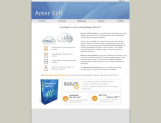 aoser.com screenshot