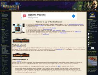 aow2.heavengames.com screenshot