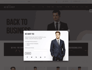 ap-gentshop-store.myshopify.com screenshot