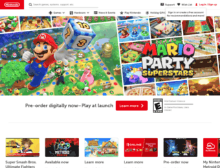 ap.nintendo.com screenshot