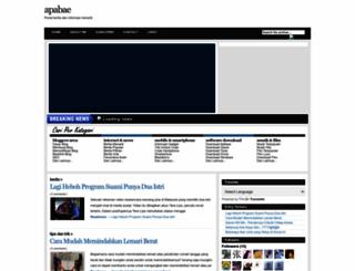 apabe.blogspot.com screenshot