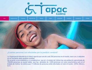 apac-colima.org screenshot