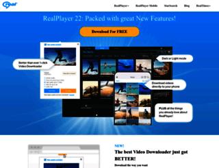 apac.real.com screenshot