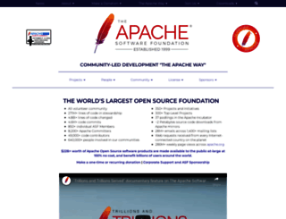 apache.org screenshot