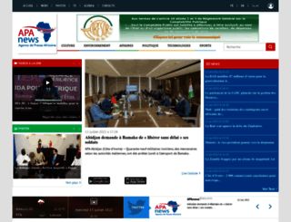 apanews.net screenshot