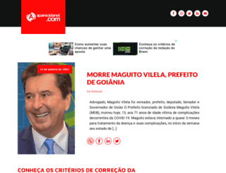 aparecidanet.com.br screenshot