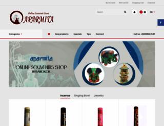 aparmita.com screenshot