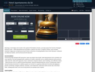 apartamento-da-se-funchal.h-rez.com screenshot
