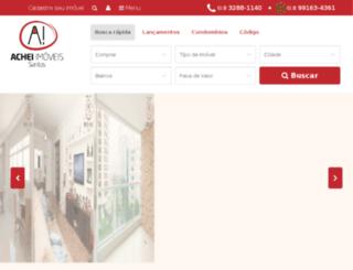 apartamentosavendaemsantos.com.br screenshot