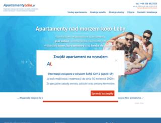 apartamentyleba.pl screenshot
