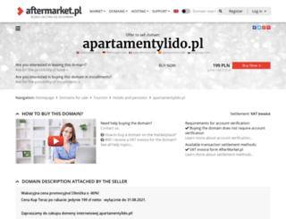 apartamentylido.pl screenshot