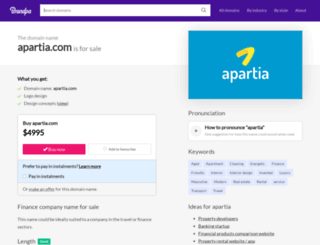 apartia.com screenshot