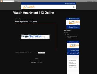 apartment-143-full-movie.blogspot.it screenshot