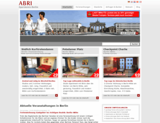 apartment-berlin.com screenshot