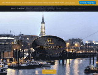 apartment-hotel.de screenshot
