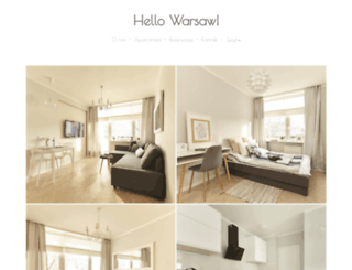 apartment-warsaw.pl screenshot