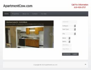 apartmentcow.com screenshot